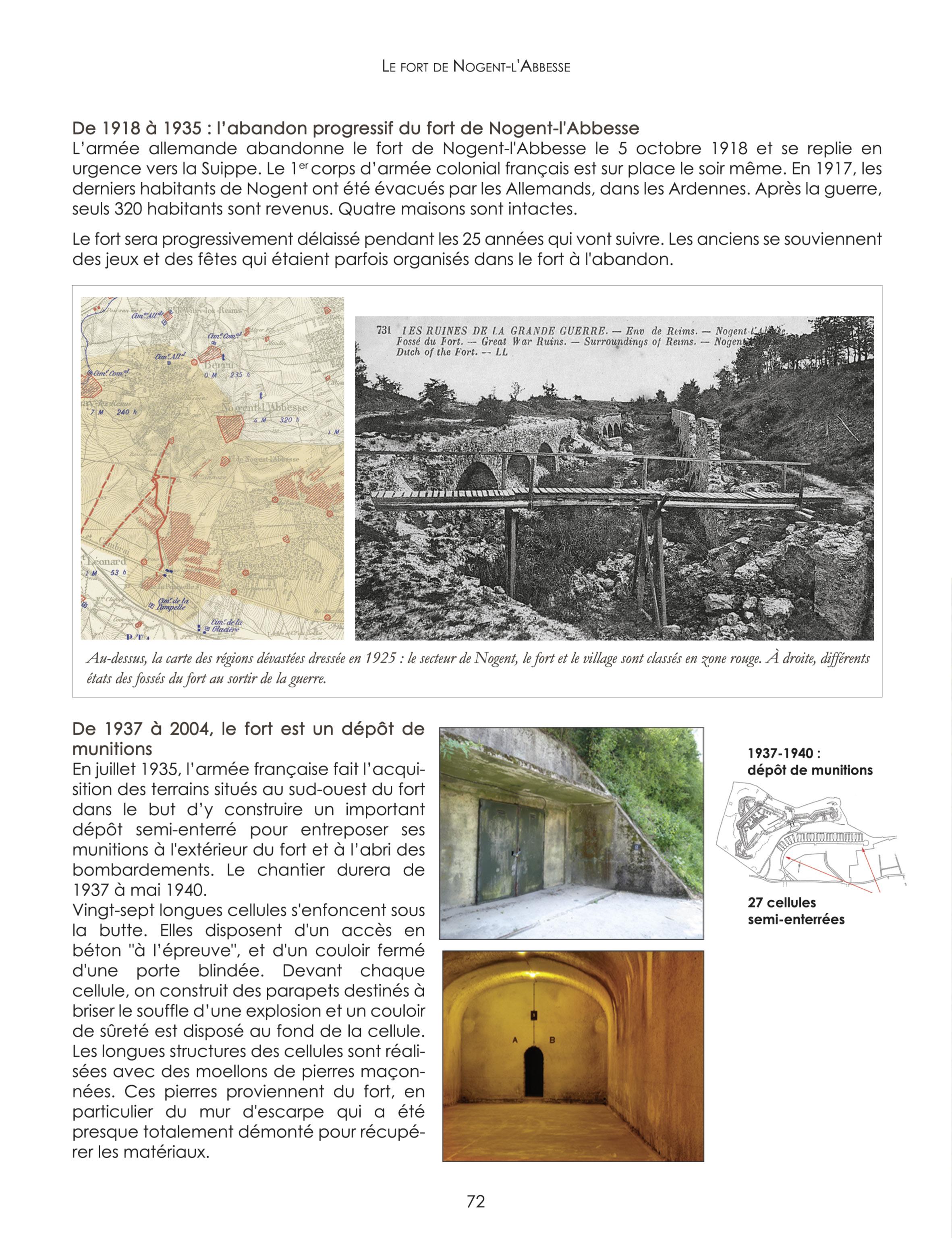 Le fort de Nogent-l'Abbesse : Le livre