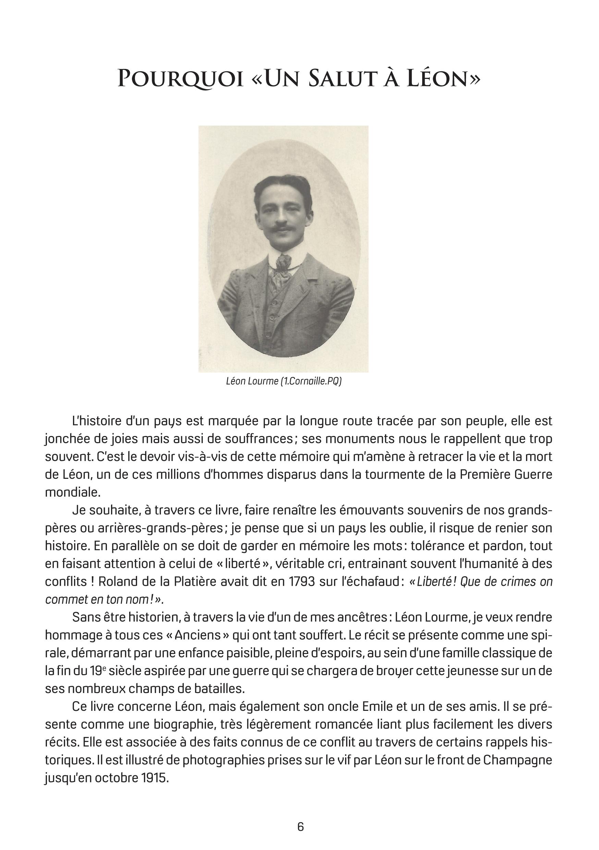 Un salut à Léon : le livre